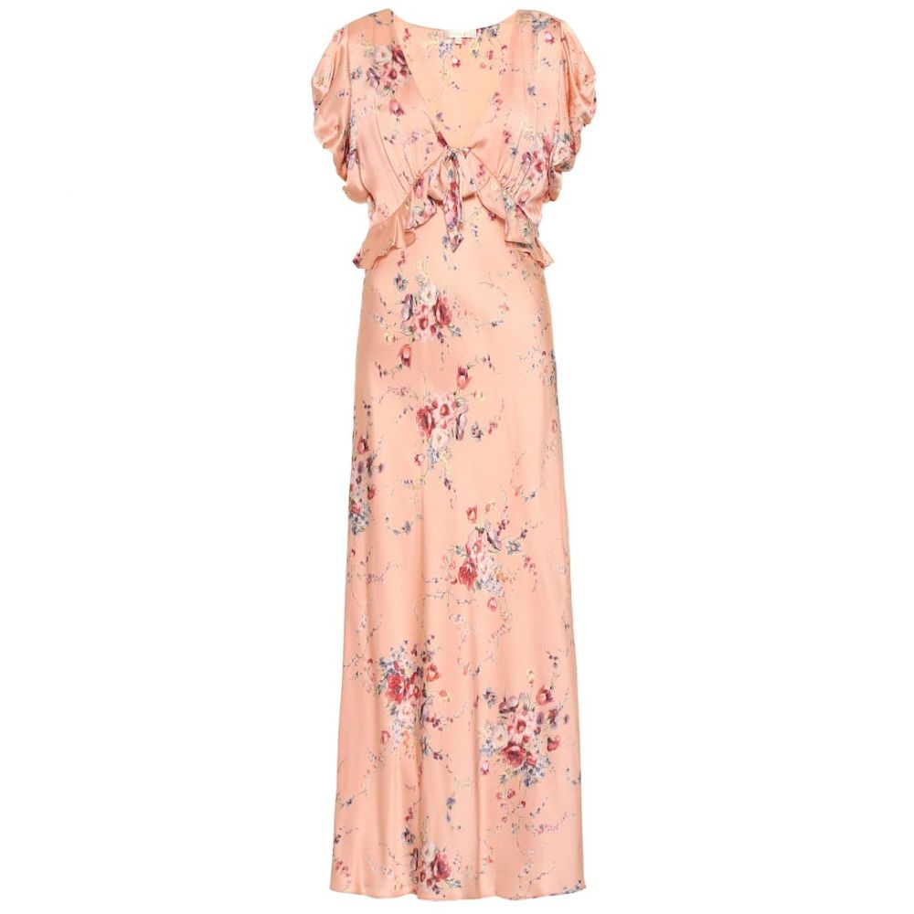 ラブシャックファンシー LoveShackFancy レディース ワンピース・ドレス ワンピース【Lillian floral silk dress】Duchess
