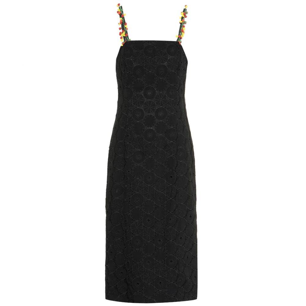 スタッド Staud レディース ワンピース・ドレス ワンピース【Cocomaya broderie anglaise dress】Black