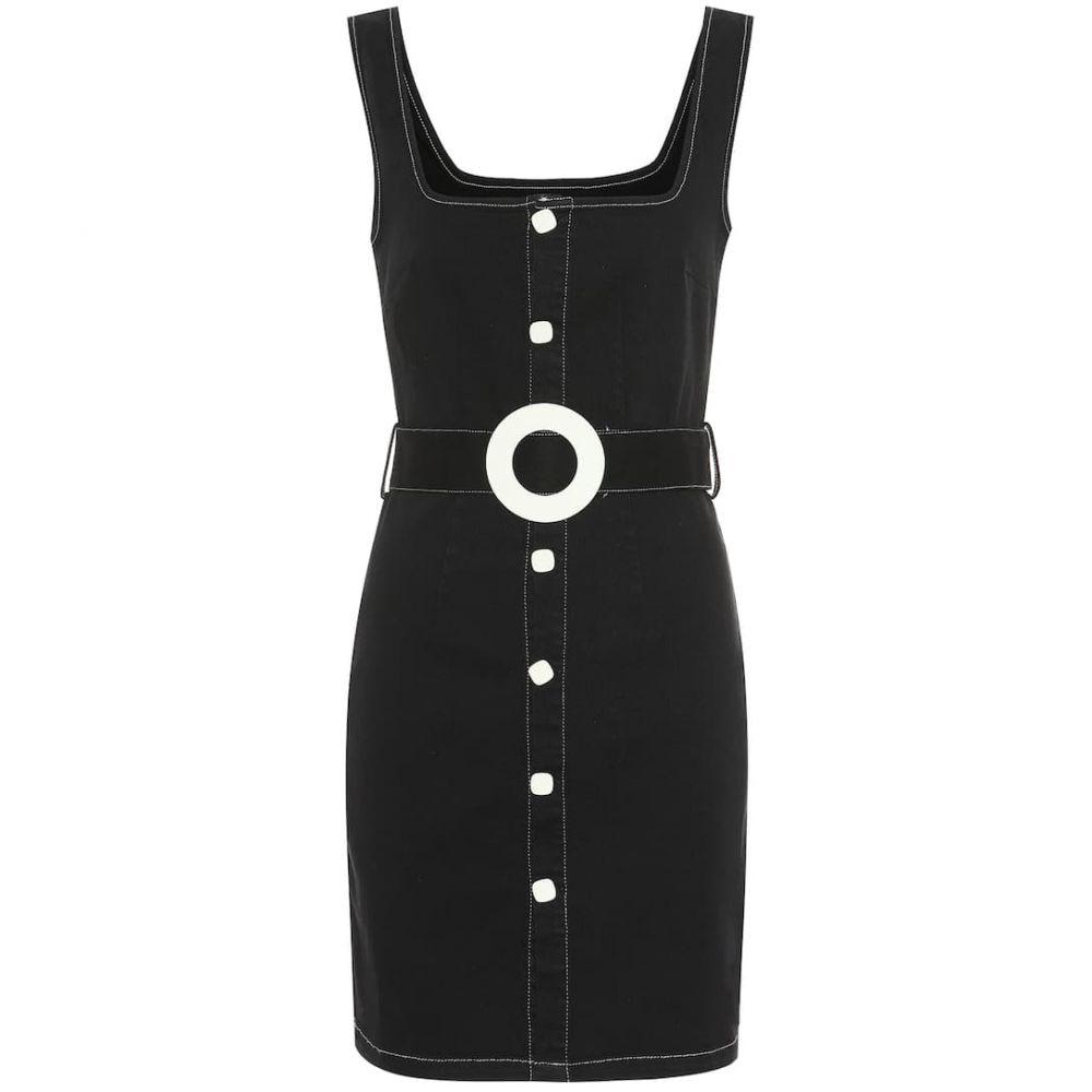 ソリッド&ストライプ Solid & Striped レディース ワンピース・ドレス ワンピース【Stretch-cotton denim minidress】Black