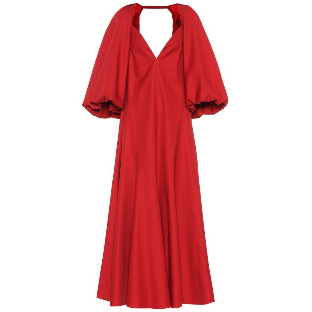 カイト Khaite レディース ワンピース・ドレス ワンピース【Joanna cotton dress】Oxblood