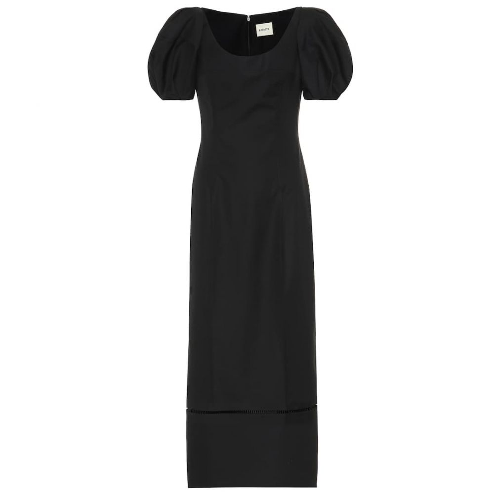 カイト Khaite レディース ワンピース・ドレス ワンピース【Allison cotton dress】Black