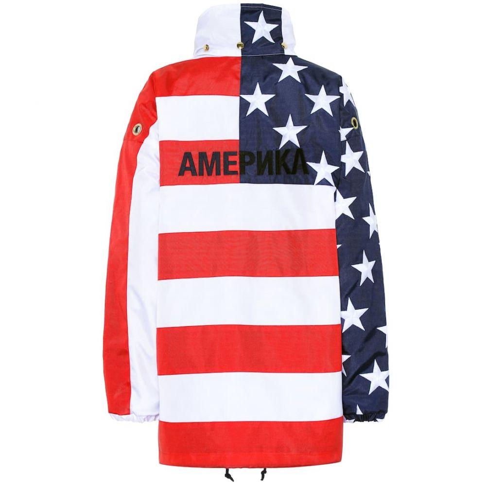 ヴェトモン Vetements レディース アウター ジャケット【Printed nylon jacket】USA