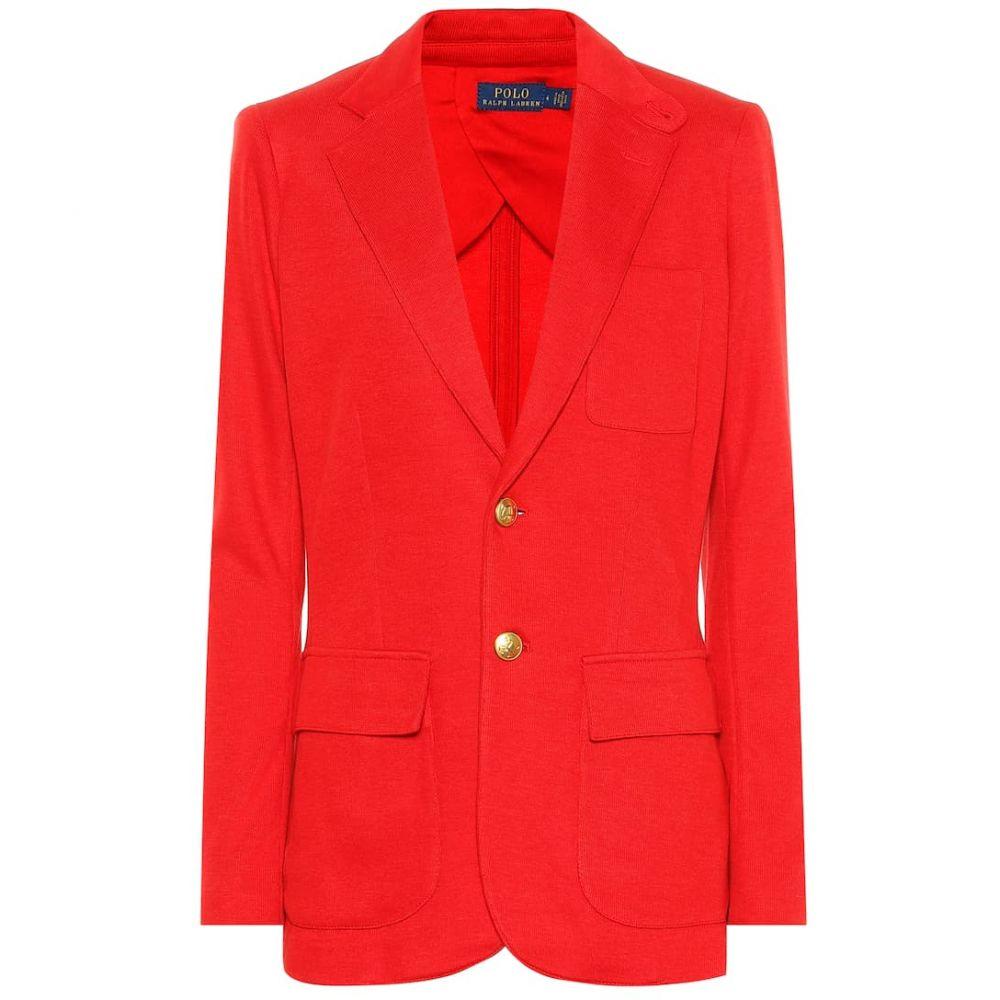 ラルフ ローレン Polo Ralph Lauren レディース アウター スーツ・ジャケット【Cotton blend blazer】Rl2000 Red