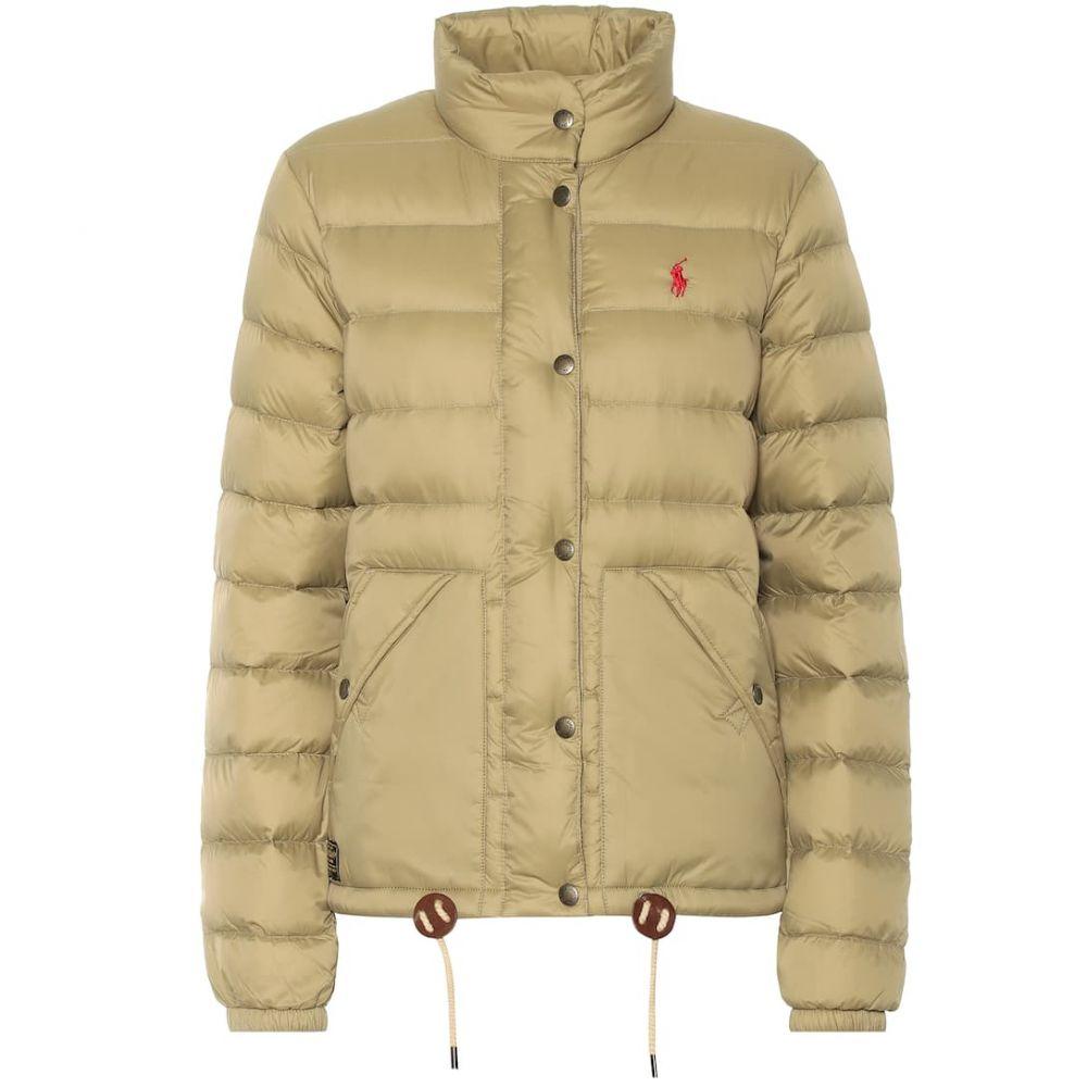 ラルフ ローレン Polo Ralph Lauren レディース アウター ダウン・中綿ジャケット【Quilted nylon jacket】Desert Tan