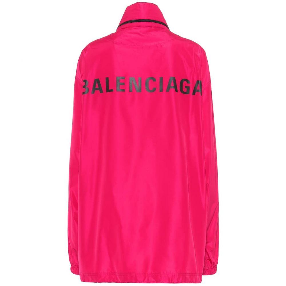 バレンシアガ Balenciaga レディース アウター ジャケット【Logo jacket】Fuchsia