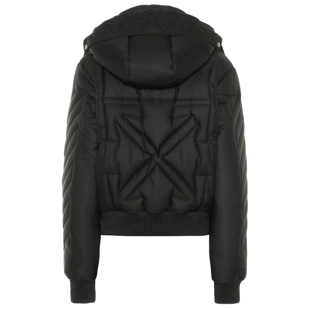 オフ-ホワイト Off-White レディース アウター ブルゾン【Padded bomber jacket】black
