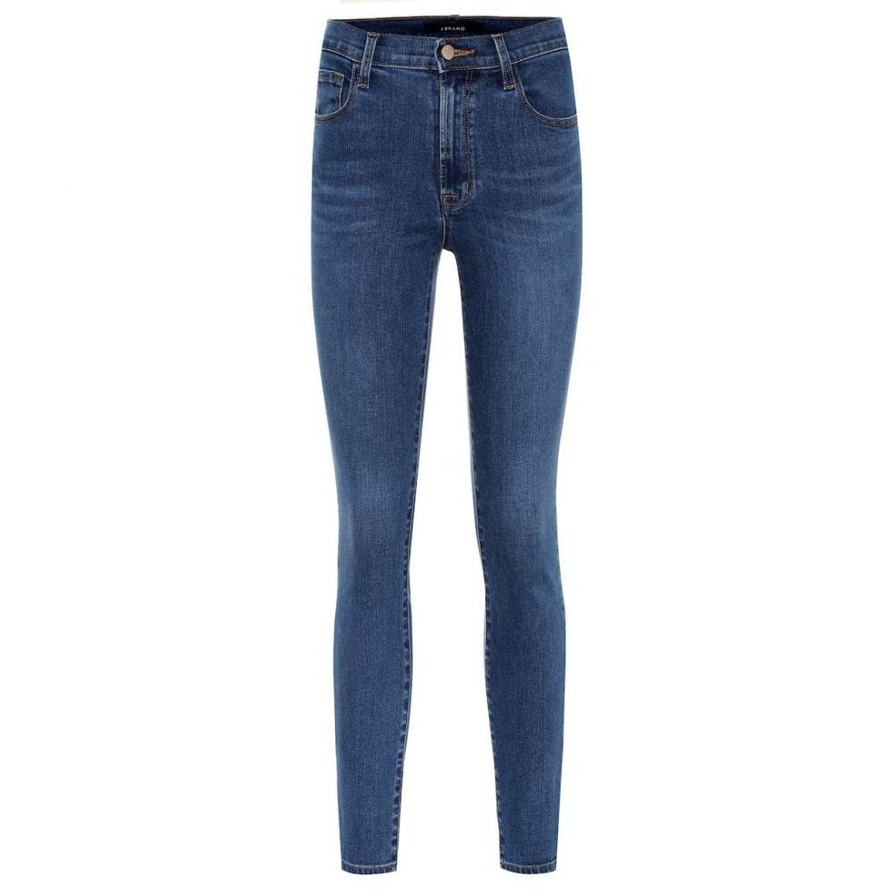ジェイ ブランド J Brand レディース ボトムス・パンツ ジーンズ・デニム【Leenah high-rise skinny jeans】cyber