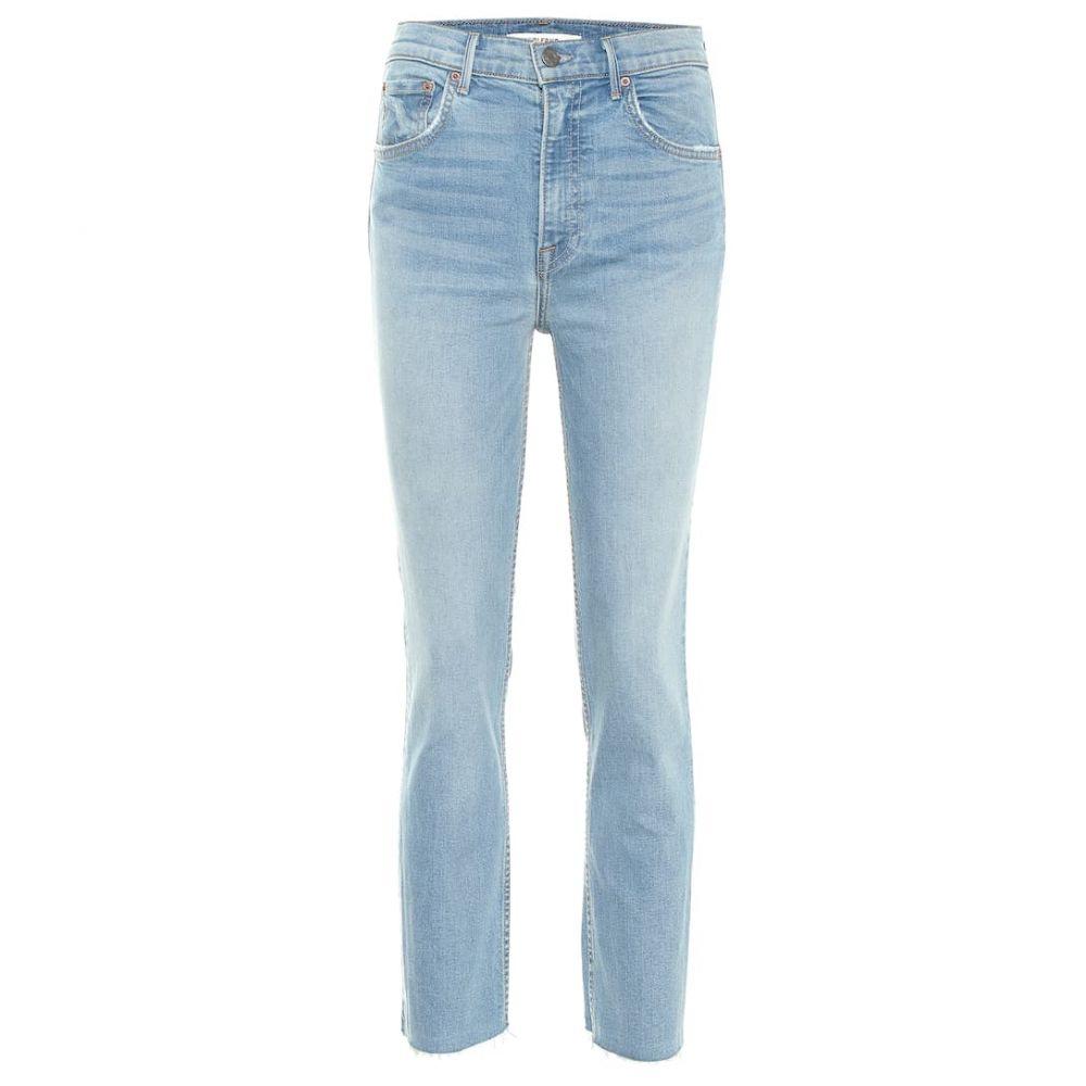 ガールフレンズ Grlfrnd レディース ボトムス・パンツ ジーンズ・デニム【The Reed high-rise skinny jeans】Holding On