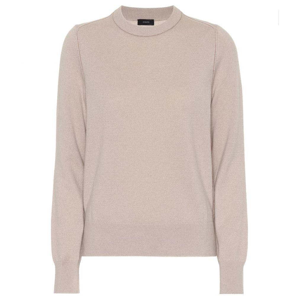 ジョゼフ Joseph レディース トップス ニット・セーター【Cashmere sweater】Fawn
