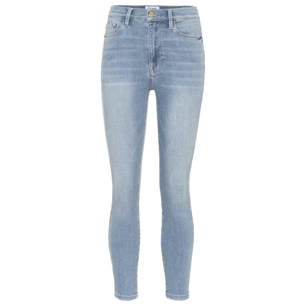 フレーム Frame レディース ボトムス・パンツ ジーンズ・デニム【Ali high-rise cigarette jeans】riptide