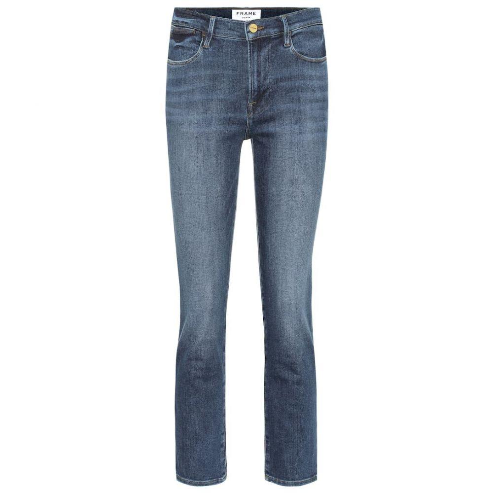 フレーム Frame レディース ボトムス・パンツ ジーンズ・デニム【Le High Straight high-rise jeans】Bestia