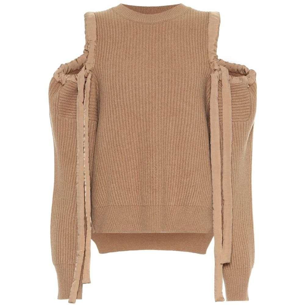 ステラ マッカートニー Stella McCartney レディース トップス ニット・セーター【Cashmere and wool sweater】Havana