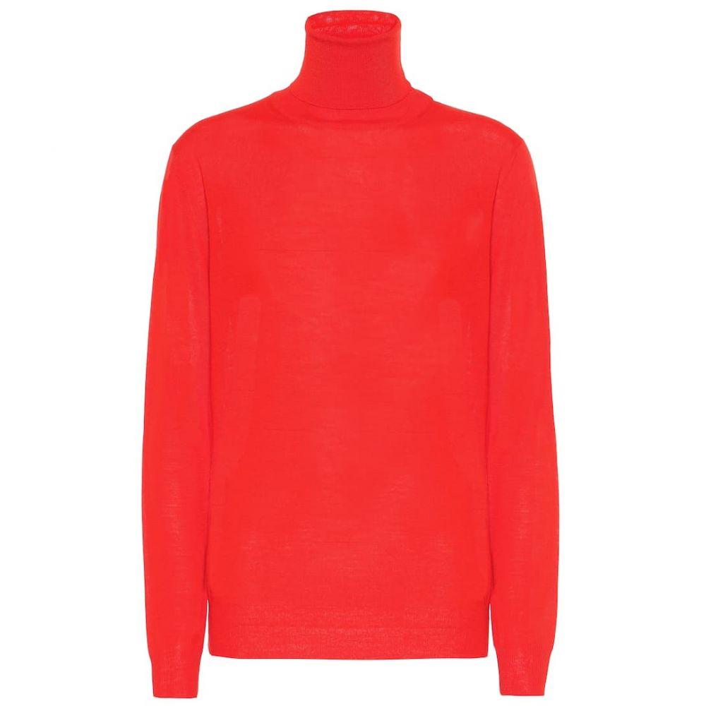 ステラ マッカートニー Stella McCartney レディース トップス ニット・セーター【Virgin wool turtleneck sweater】Vermillion