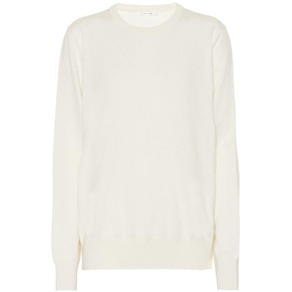 ザ ロウ The Row レディース トップス ニット・セーター【Olive cashmere sweater】Ivory