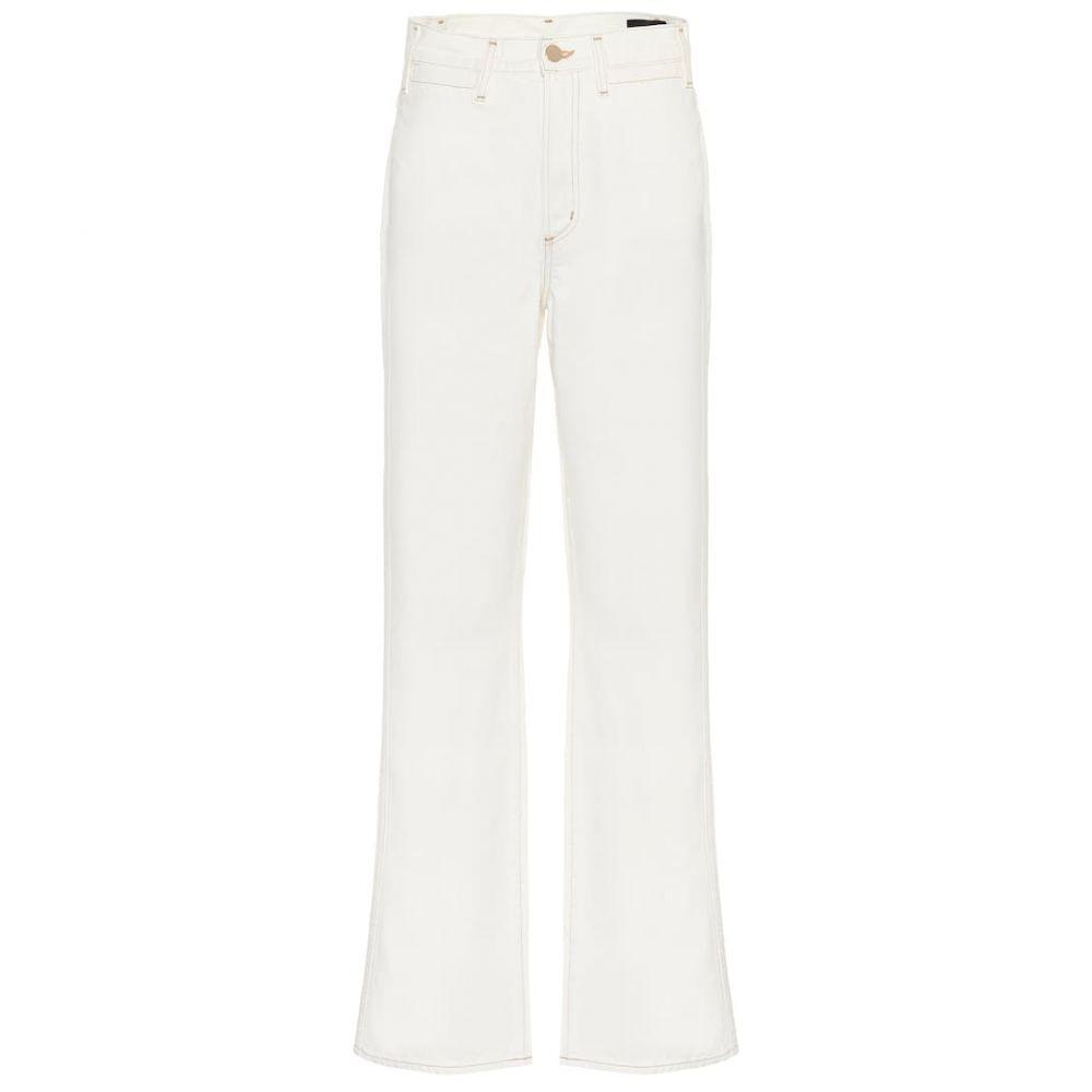 ゴールドサイン Goldsign レディース ボトムス・パンツ ジーンズ・デニム【High-rise cropped wide-leg jeans】pearl