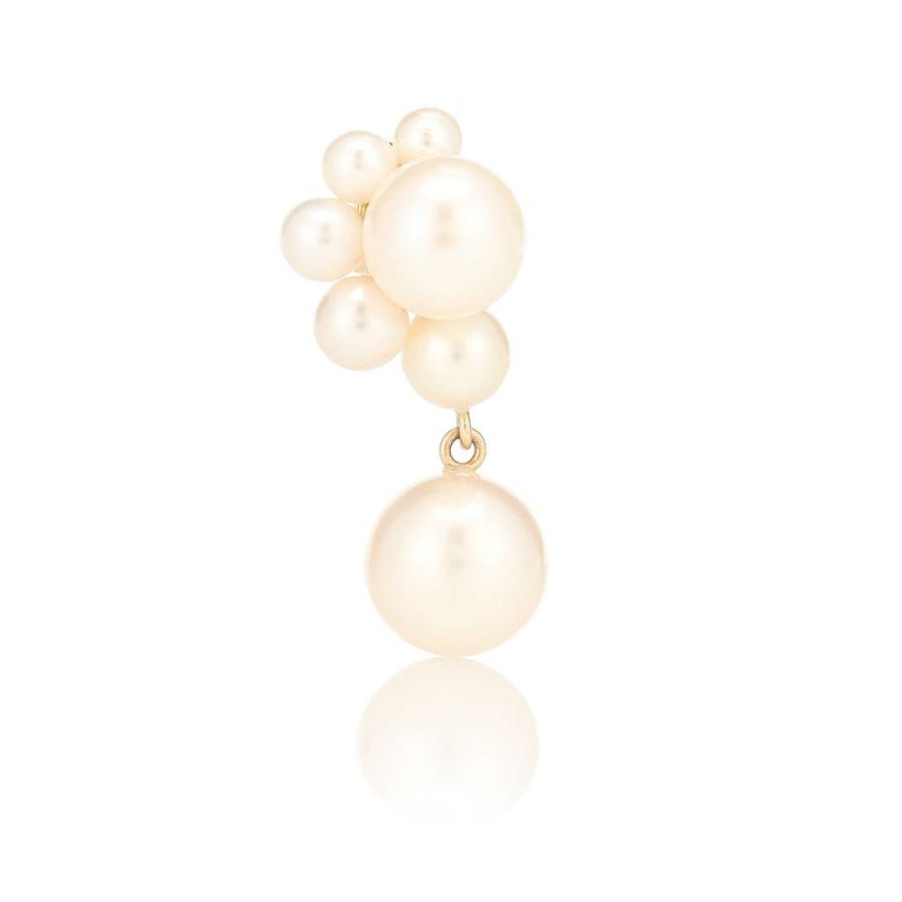 ソフィ ビレ ブラーエ Sophie Bille Brahe レディース ジュエリー・アクセサリー イヤリング・ピアス【Federico Perle 14kt gold single earring with pearls】