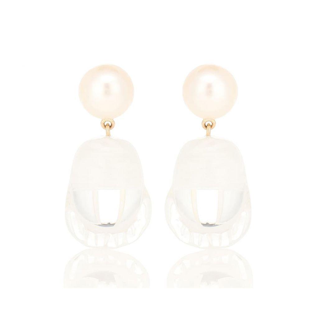 ソフィ ビレ ブラーエ Sophie Bille Brahe レディース ジュエリー・アクセサリー イヤリング・ピアス【Venus Vere 14-kt yellow gold earrings with pearls】