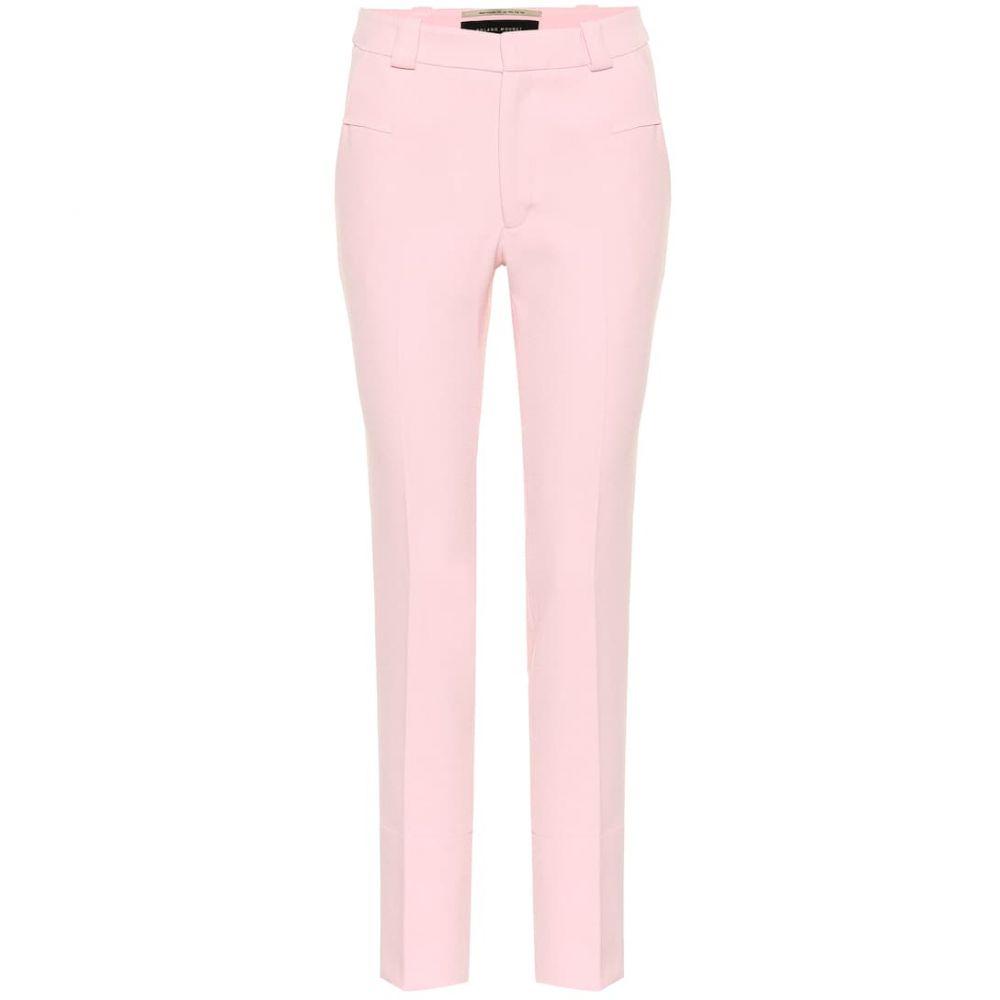 ローラン ムレ Roland Mouret レディース ボトムス・パンツ【Lacerta mid-rise crepe pants】Pearl Pink