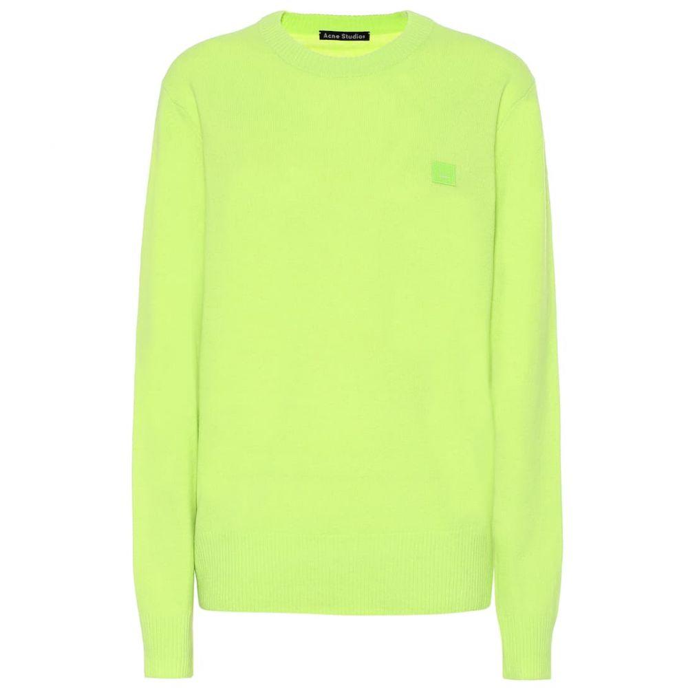 アクネ ストゥディオズ Acne Studios レディース トップス ニット・セーター【Wool sweater】Lime Green