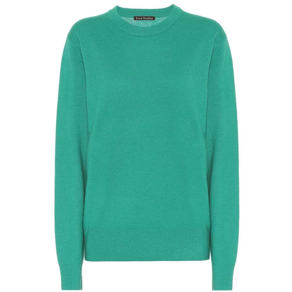 アクネ ストゥディオズ Acne Studios レディース トップス ニット・セーター【Wool sweater】Bright Green