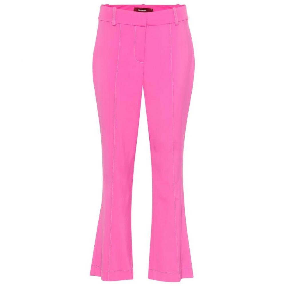 シエス マルジャン Sies Marjan レディース ボトムス・パンツ クロップド【Danit high-rise cropped flared pants】Fluo Pink
