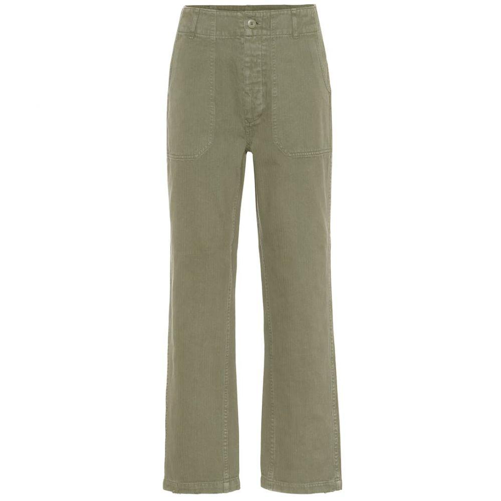 リダン Re/Done レディース ボトムス・パンツ【50s Military cotton pants】Olive