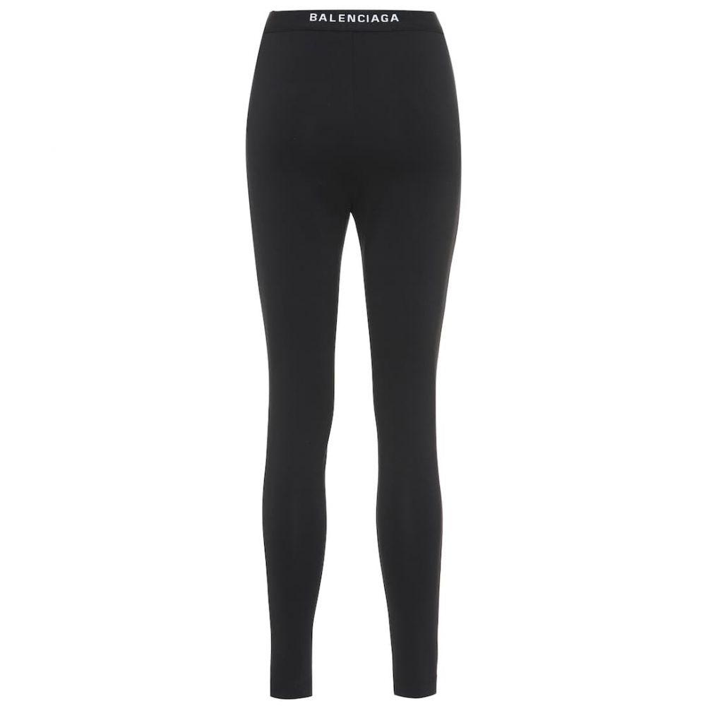 バレンシアガ Balenciaga レディース インナー・下着 スパッツ・レギンス【Logo leggings】Black