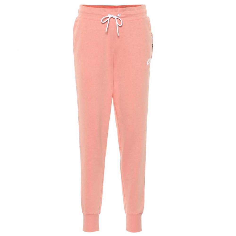 ナイキ Nike レディース ボトムス・パンツ スウェット・ジャージ【Cotton blend trackpants】Pink Quartz/White/White