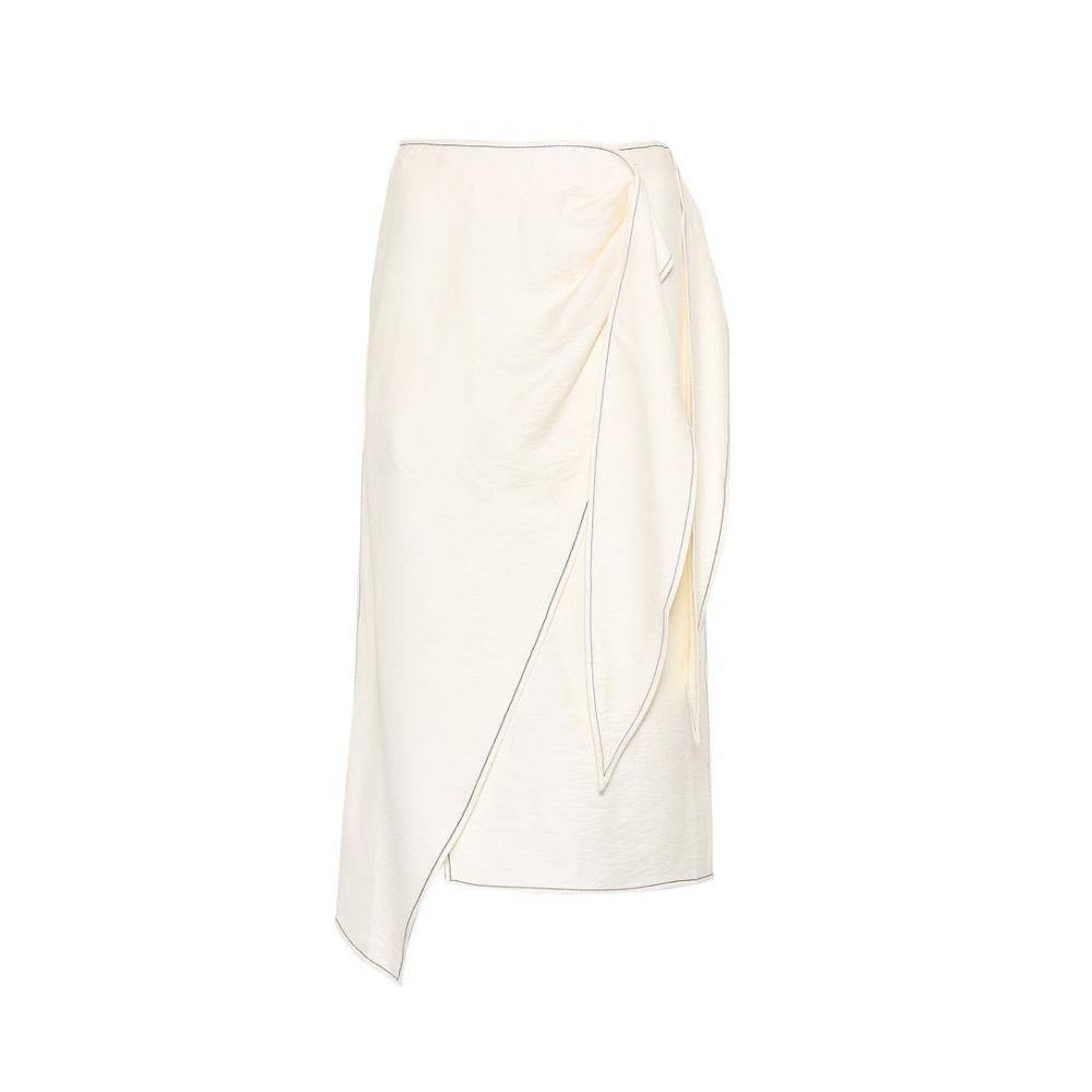 レジーナ ピヨ Rejina Pyo レディース スカート【Colette wrap skirt】Ivory