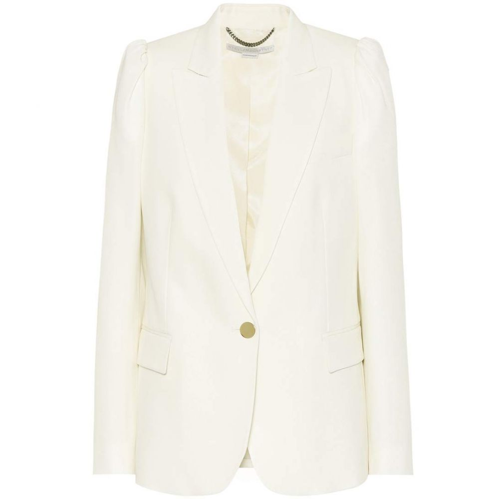 ステラ マッカートニー Stella McCartney レディース アウター スーツ・ジャケット【Wool twill blazer】Cream