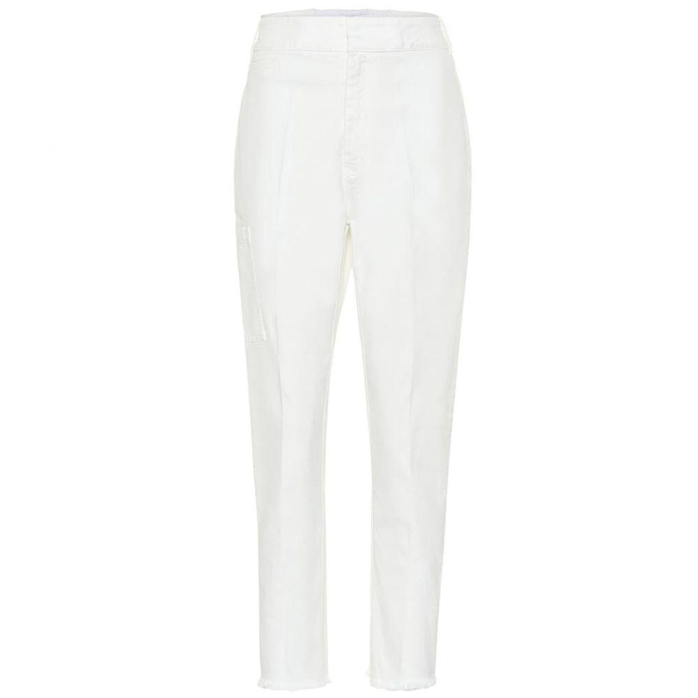 ハイダー アッカーマン Haider Ackermann レディース ボトムス・パンツ ジーンズ・デニム【High-rise straight jeans】Crystall Ivory