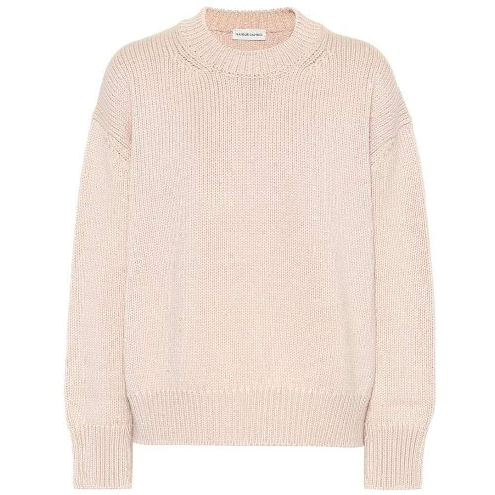 マンサーガブリエル Mansur Gavriel レディース トップス ニット・セーター【Wool sweater】rosa