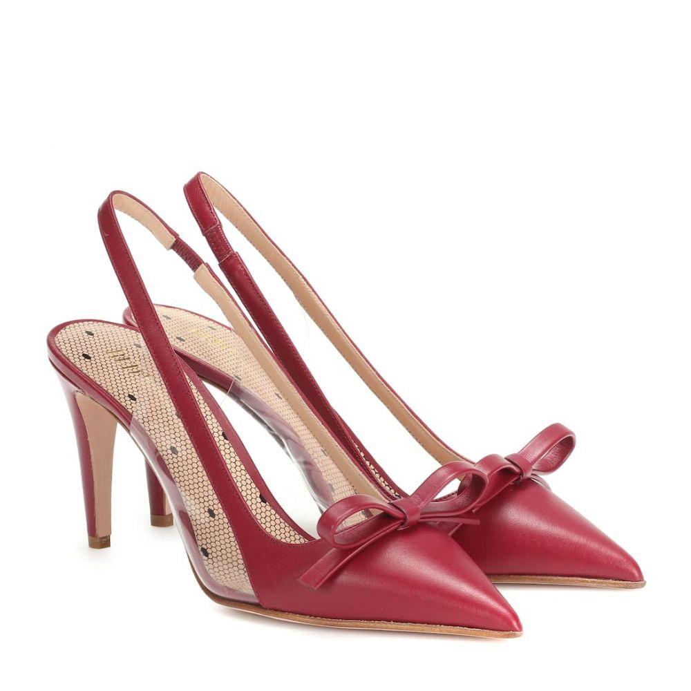 レッド ヴァレンティノ REDValentino レディース シューズ・靴 パンプス【RED (V) slingback leather pumps】