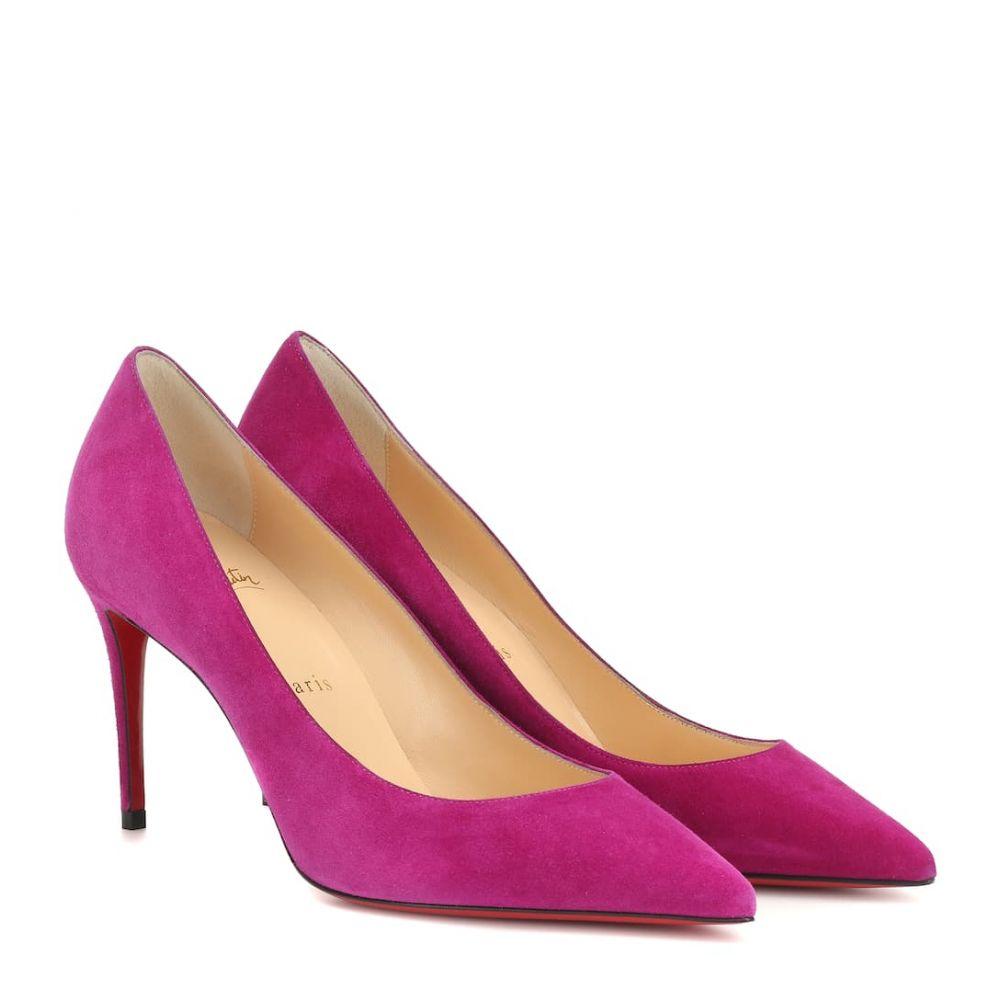 クリスチャン ルブタン Christian Louboutin レディース シューズ・靴 パンプス【Kate 85 suede pumps】Richelieu