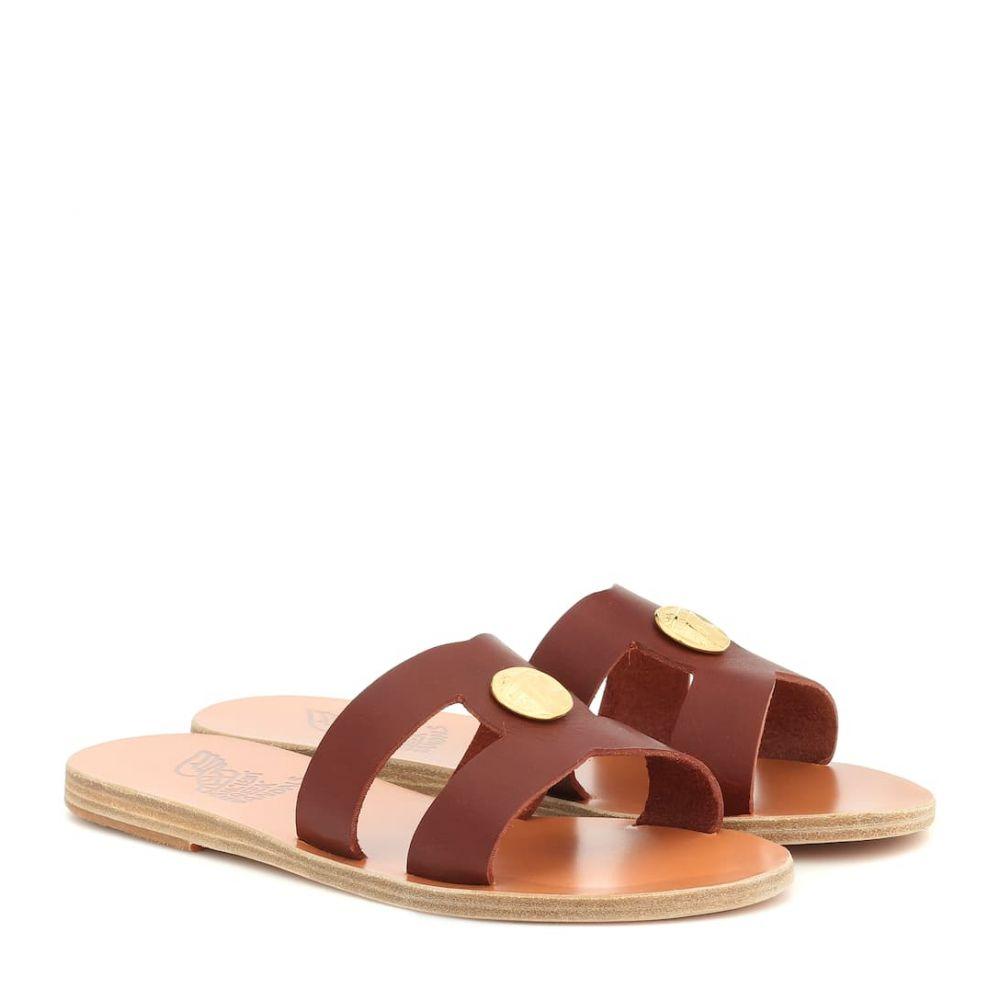 エンシェント グリーク サンダルズ Ancient Greek Sandals レディース シューズ・靴 サンダル・ミュール【Desmos Coin leather sandals】Chestnut