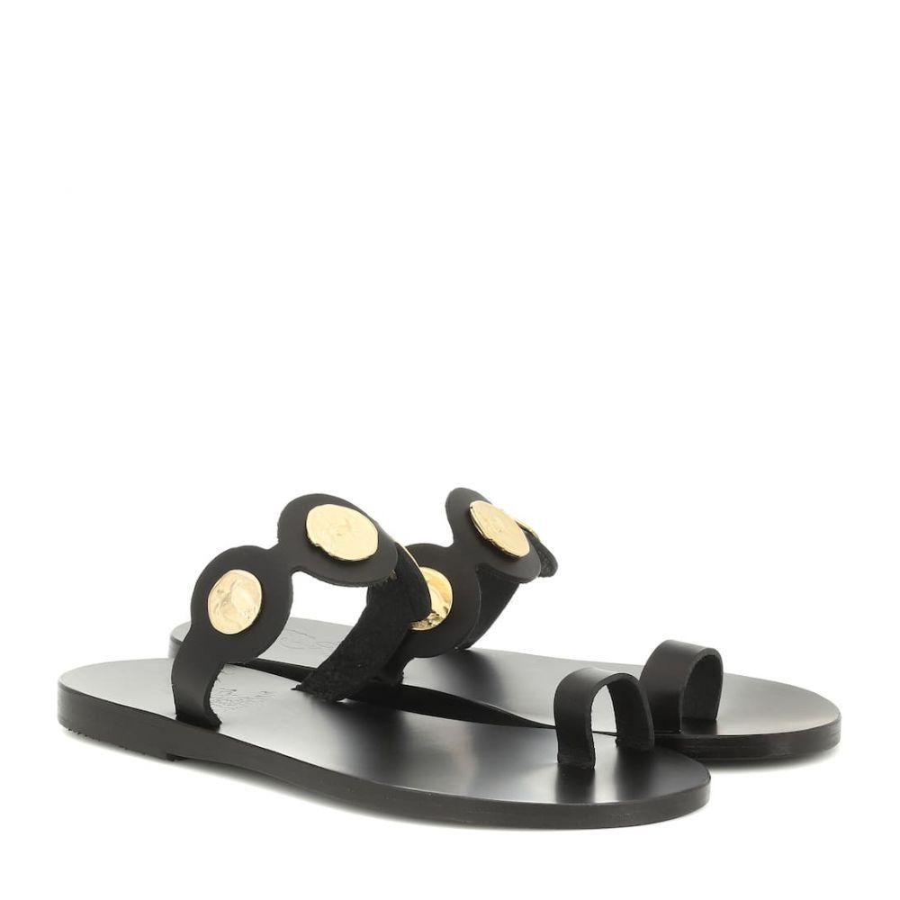 エンシェント グリーク サンダルズ Ancient Greek Sandals レディース シューズ・靴 サンダル・ミュール【Evelina Coin leather sandals】Black