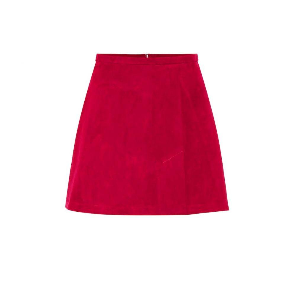 ストールス Stouls レディース スカート ミニスカート【Santa suede miniskirt】Fuxia