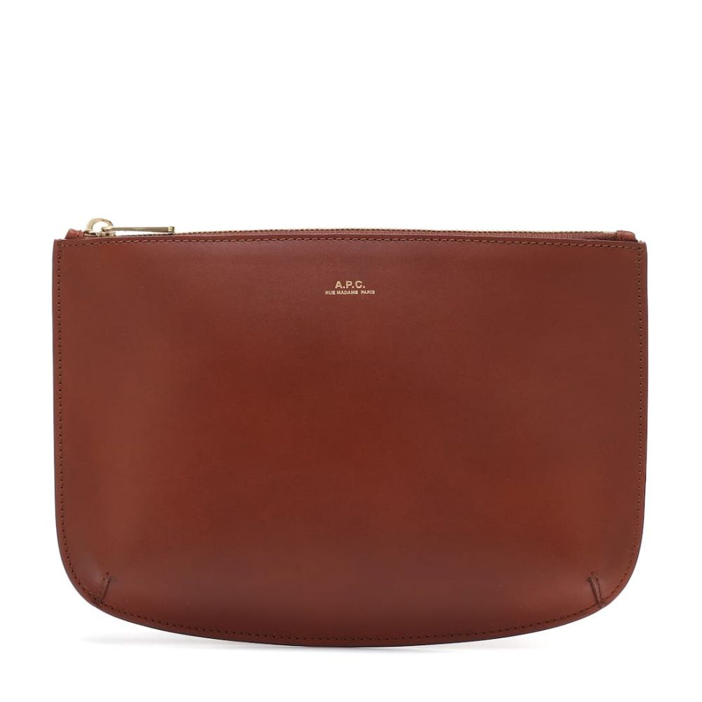 アーペーセー A.P.C. レディース ポーチ【Sarah leather pouch】