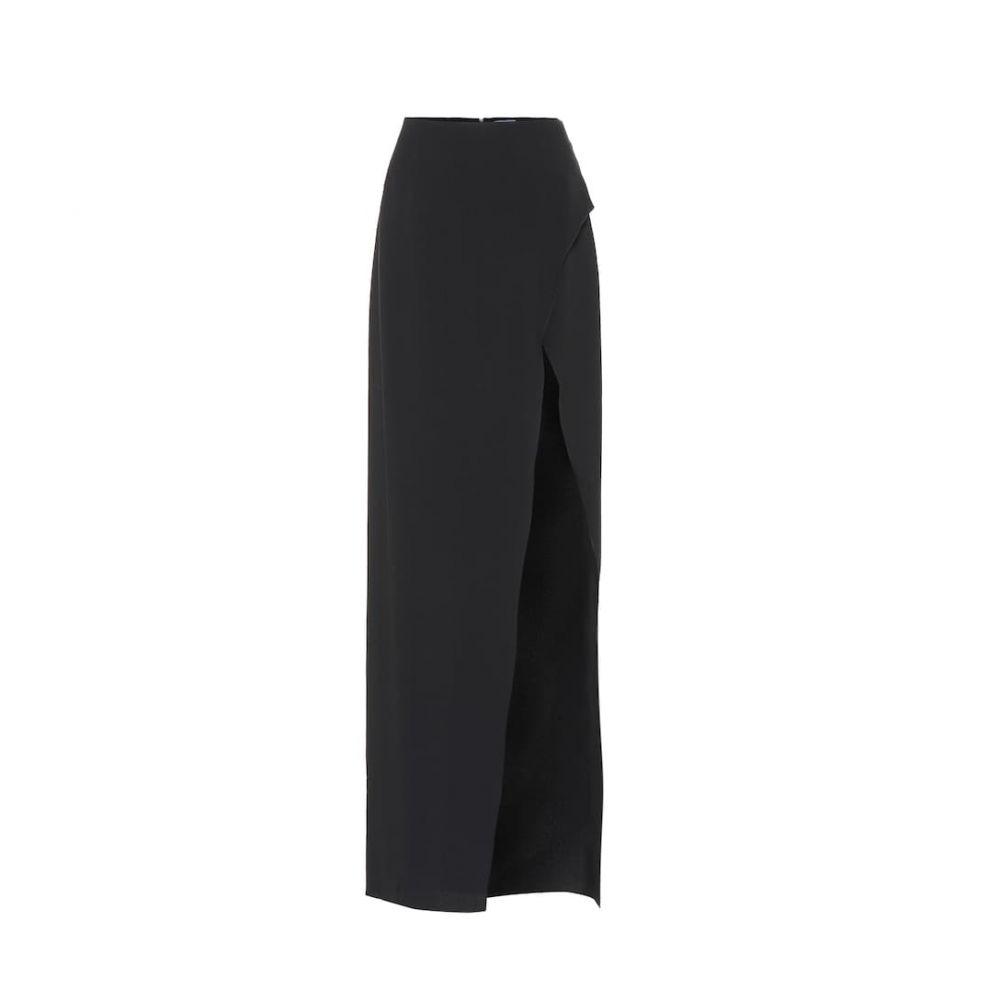 ミュグレー Mugler レディース スカート ロング・マキシ丈スカート【Slit skirt】Black