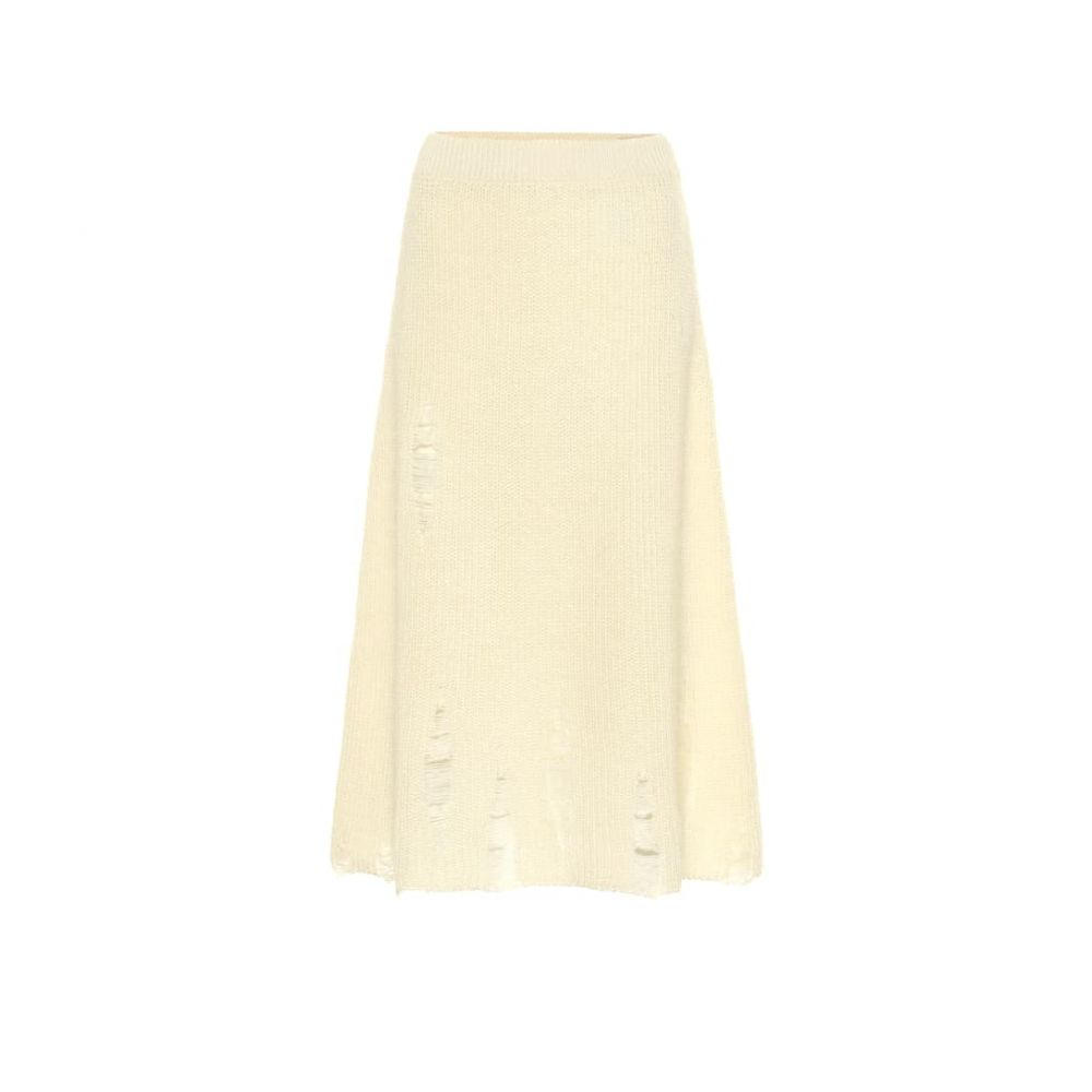 ジル サンダー Jil Sander レディース スカート ひざ丈スカート【Distressed mohair and silk skirt】Natural