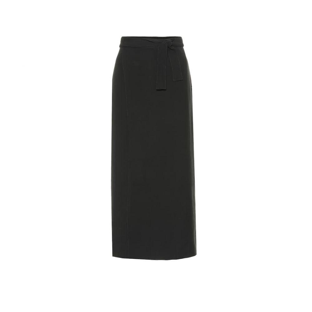 ヘイト Haight レディース スカート ひざ丈スカート【Tie-waist sarong】Black