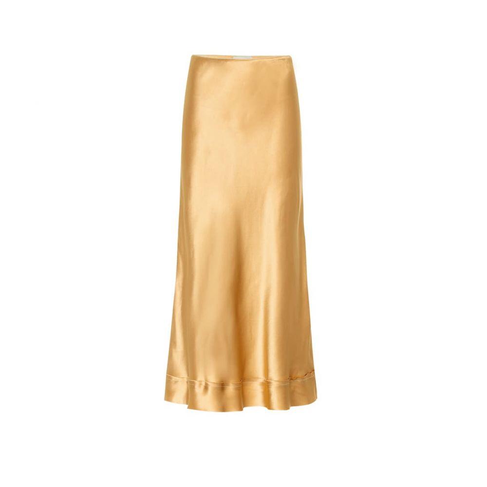 リーマシューズ Lee Mathews レディース スカート ひざ丈スカート【Stella satin slip skirt】Amber