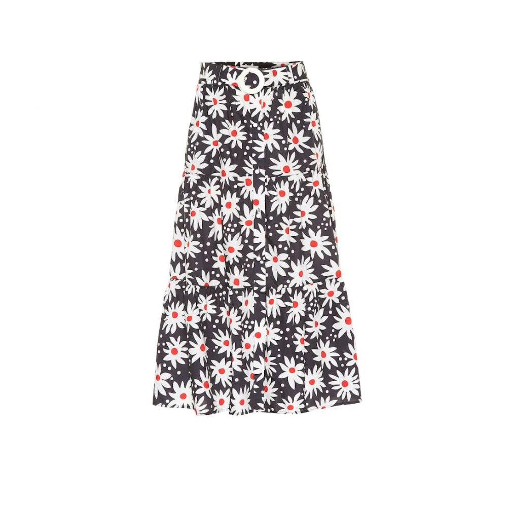 ソリッド&ストライプ Solid & Striped レディース スカート ひざ丈スカート【floral cotton skirt】Big Daisy Exclusive