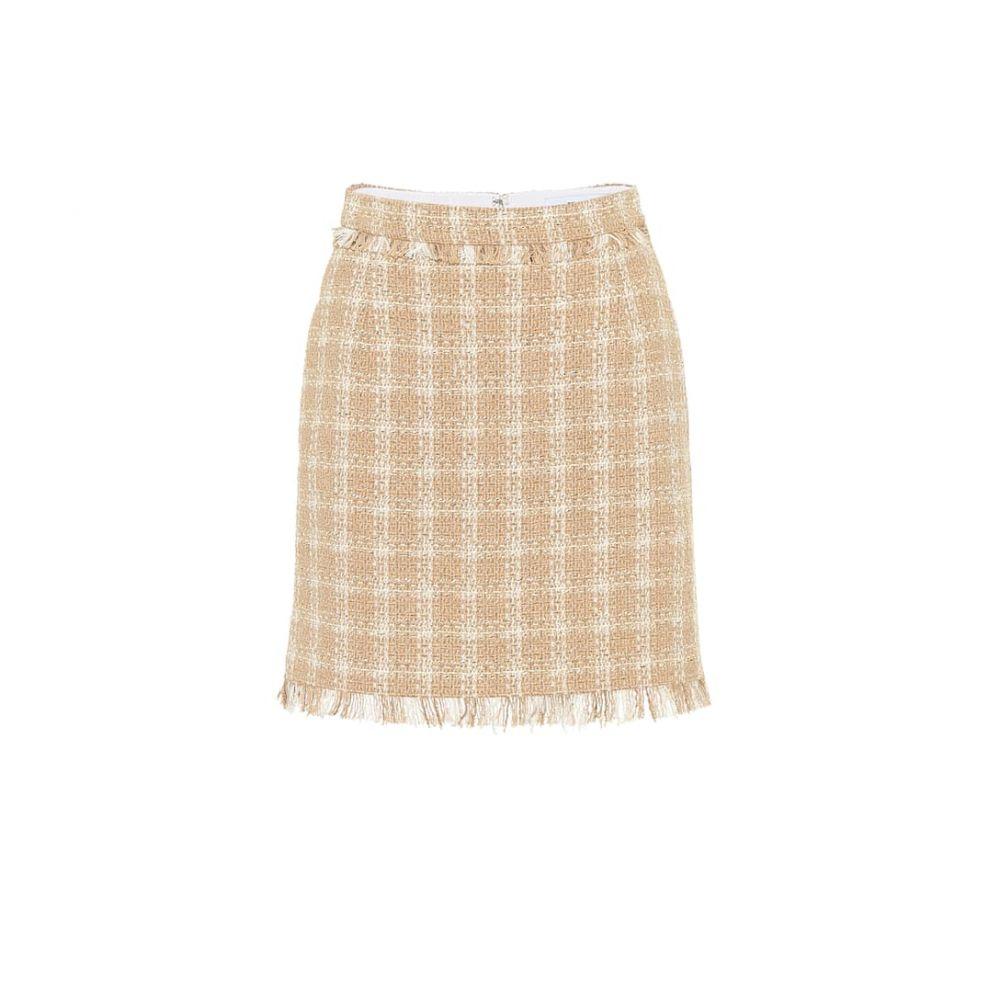 エムエスジーエム MSGM レディース スカート ミニスカート【Cotton-blend tweed miniskirt】