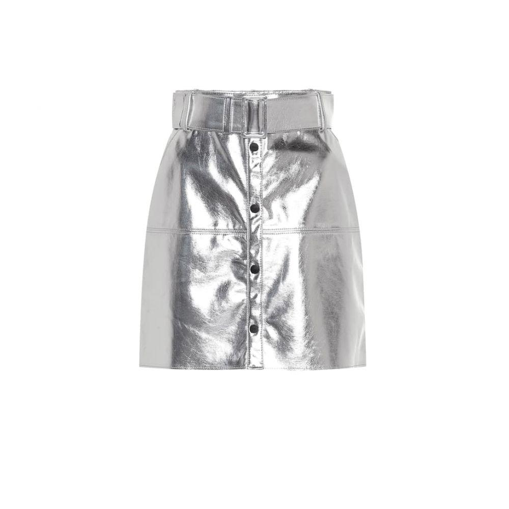 エムエスジーエム MSGM レディース スカート ミニスカート【Metallic miniskirt】