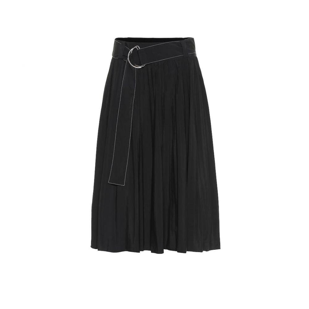 プロエンザ スクーラー Proenza Schouler レディース スカート ひざ丈スカート【Nylon midi skirt】Black