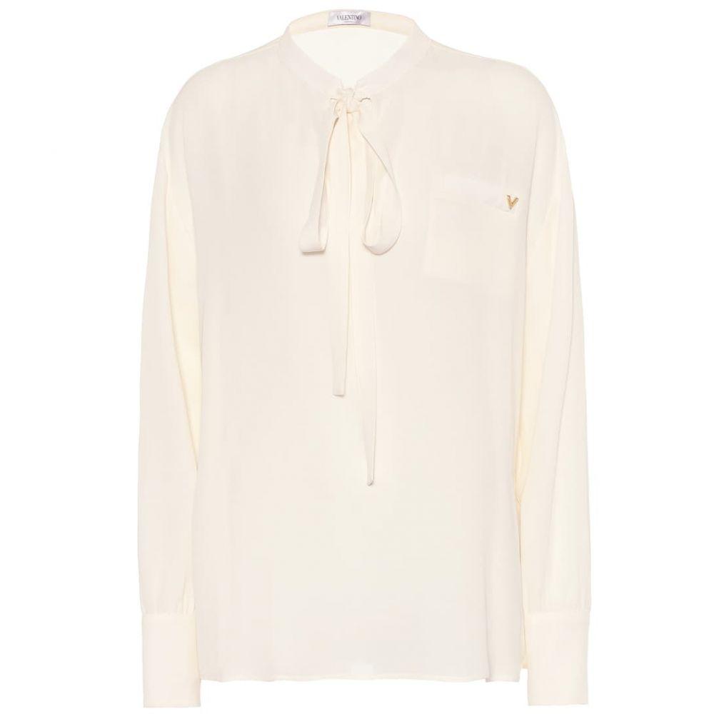 ヴァレンティノ Valentino レディース トップス ブラウス・シャツ【Silk-georgette shirt】