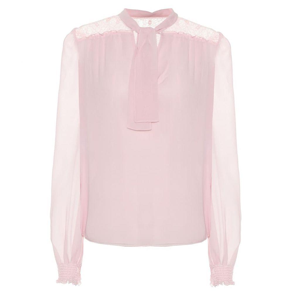 ジャンバティスタ バリ Giambattista Valli レディース トップス ブラウス・シャツ【Silk-chiffon blouse】Eden