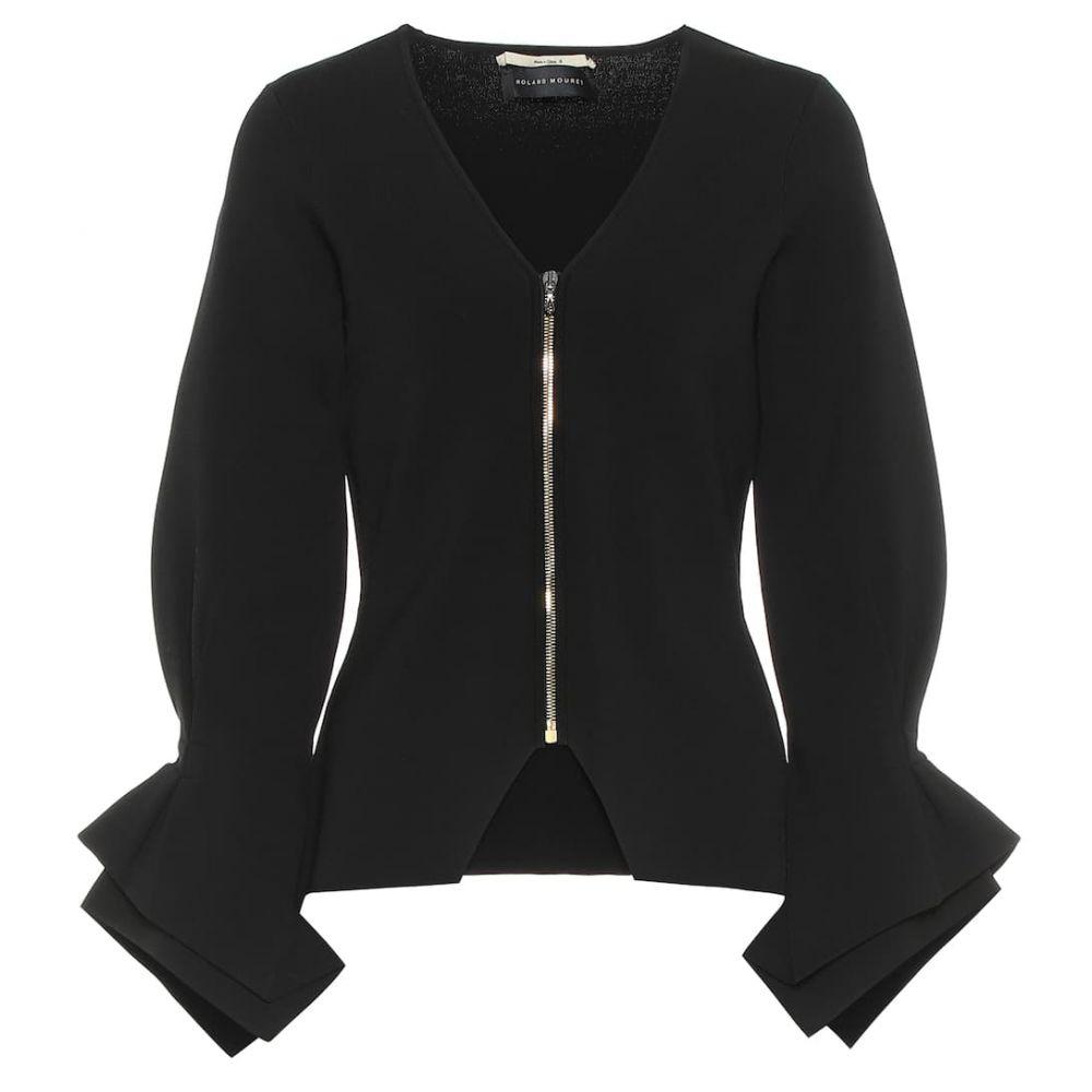 ローラン ムレ Roland Mouret レディース アウター ジャケット【Positano knit jacket】Black