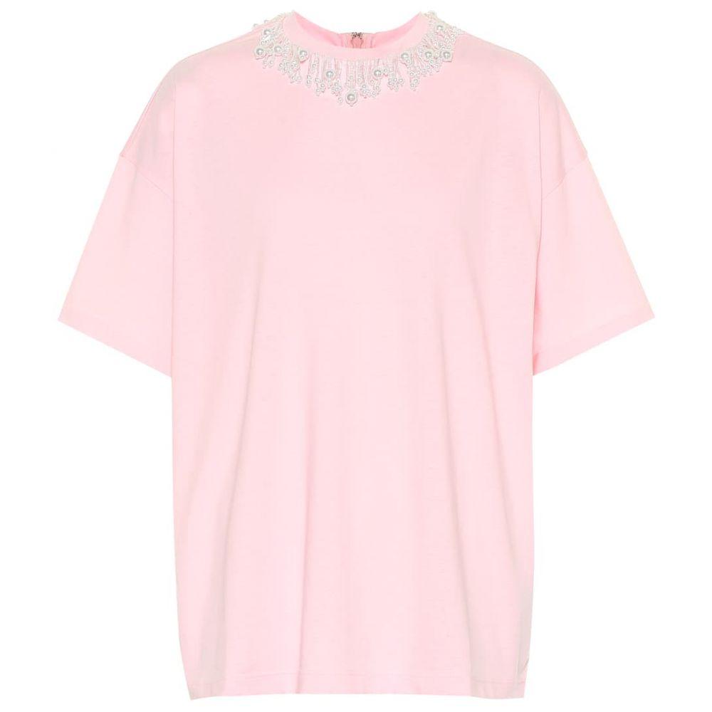クリストファー ケイン Christopher Kane レディース トップス Tシャツ【Embellished cotton-jersey T-shirt】Fairytale